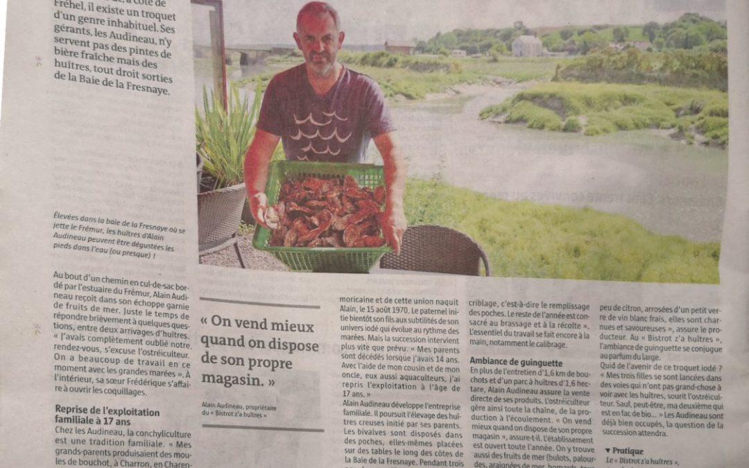 Le « Bistrot z'a huîtres » des Audineau